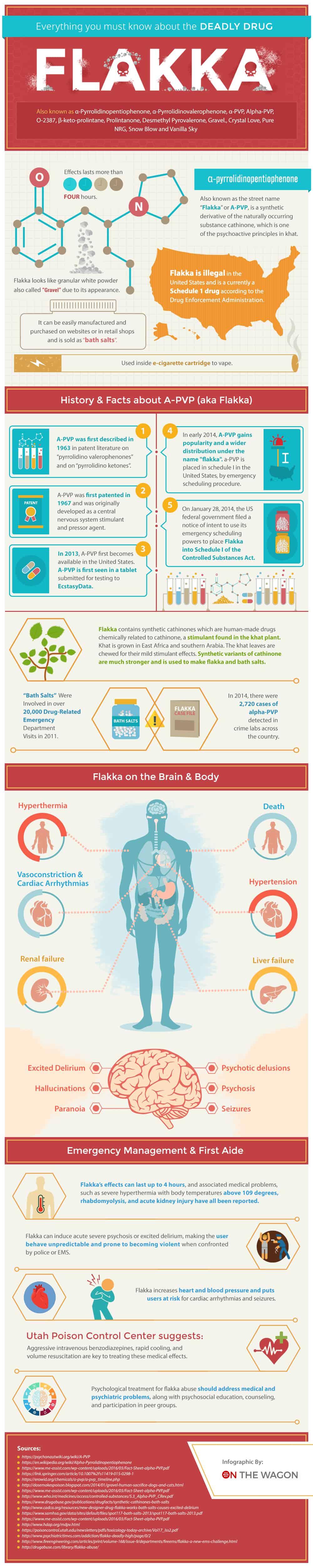 On The Wagon Flakka Infographic Final